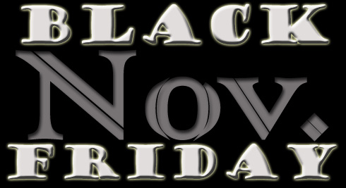 Black Friday is the fourth Friday in November in the USA
